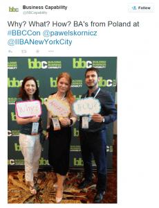 BBC Conference tweet