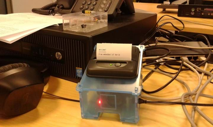 Pipsta - IoT thermal printer