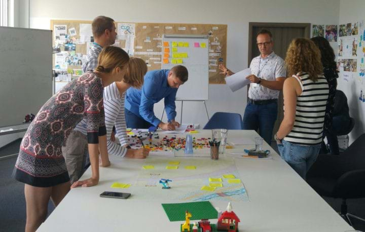 Agile Lego Tests Scrum