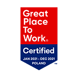 Great Place to Work Certified 2021
